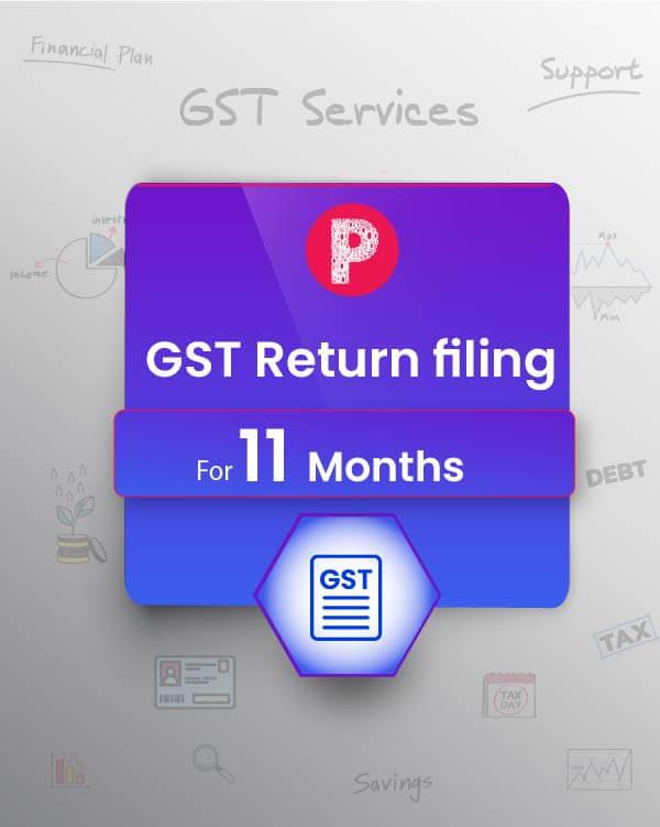 GST Returns - 11 months ( GSTR-3B /GSTR-1