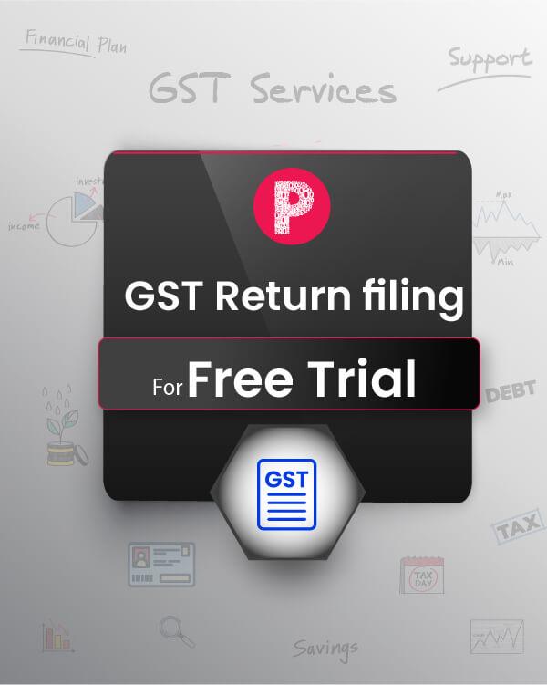 GST Return - Trial 1 Month (GSTR-3B)