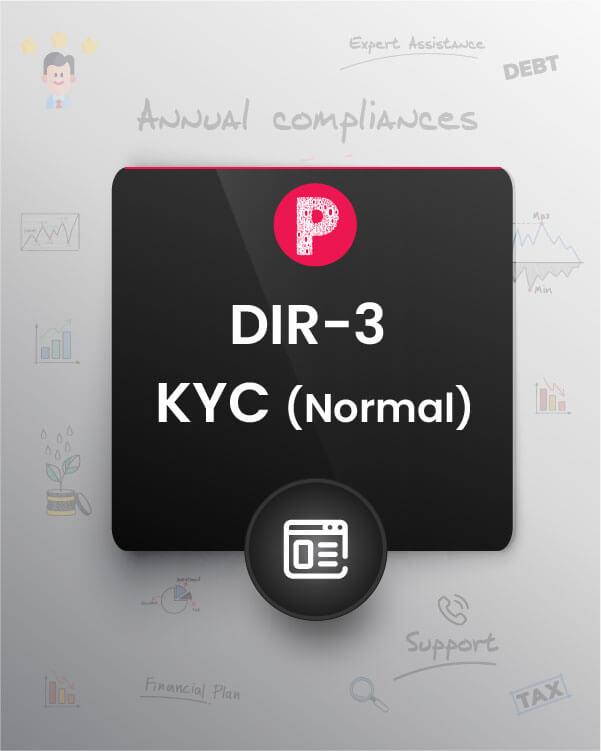 DIR-3 KYC (Normal)