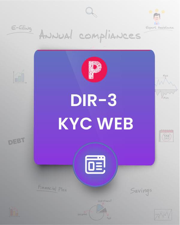 DIR-3 KYC (Web Form)